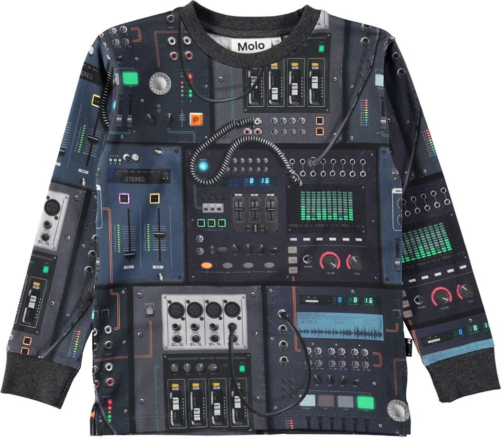 Rai - Mixer - Sporty top with digital mixer print