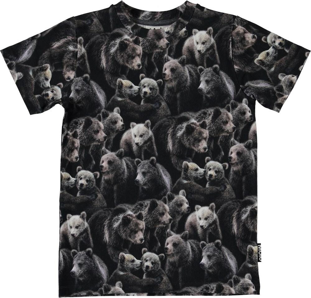 Ralphie - Bears - Organic t-shirt with bears