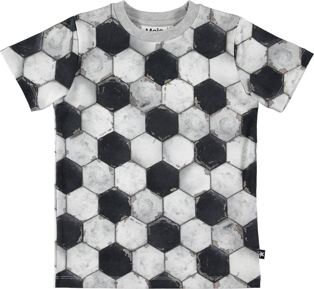 Ralphie - Football Structure - Short sleeve t-shirt with football print
