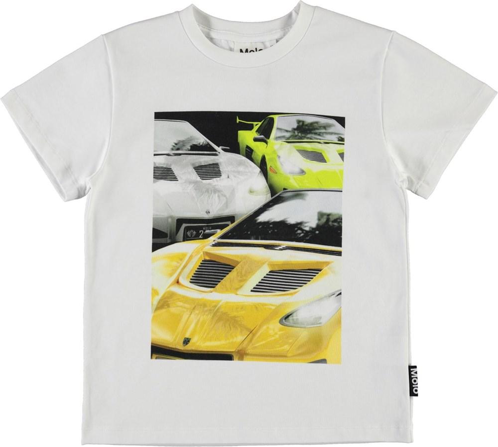 Rame - Cars Reflection - Organic t-shirt with car print