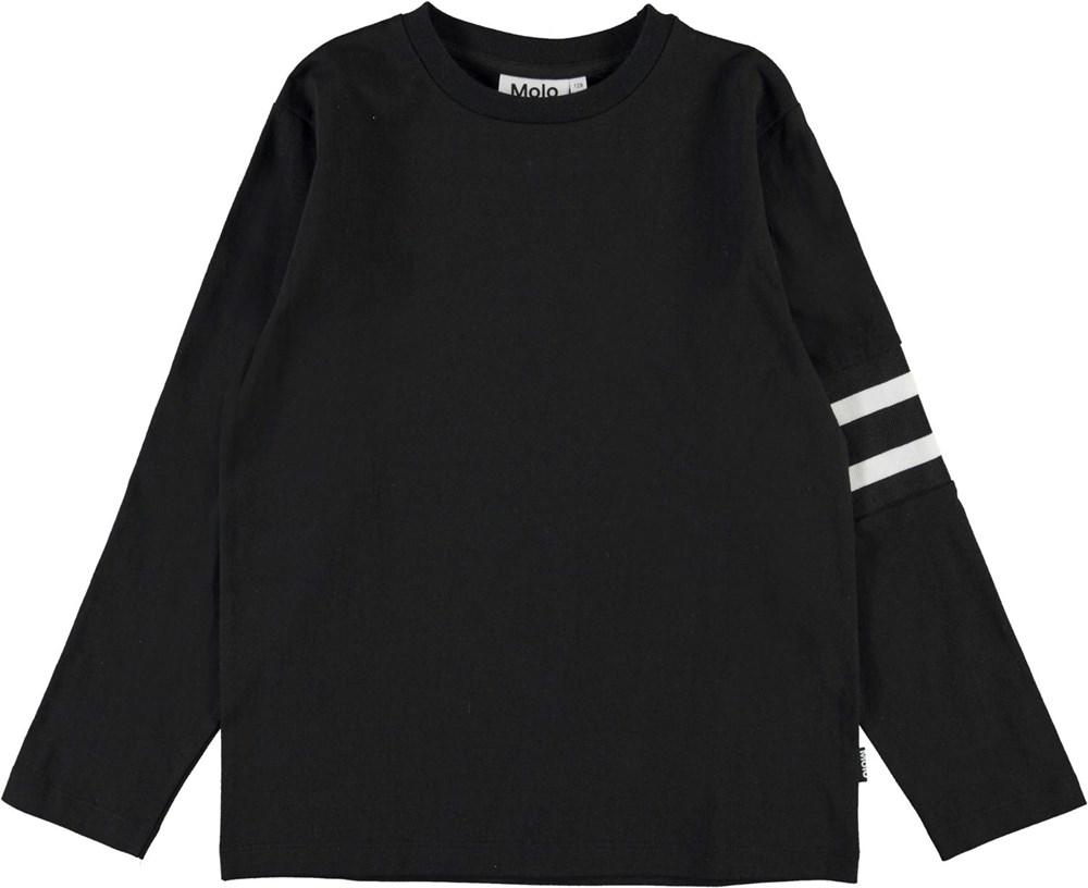 Ras - Black - Black top with white stripe