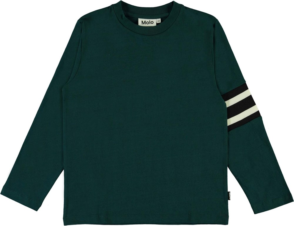 Ras - Night Forest - Green top with stripes