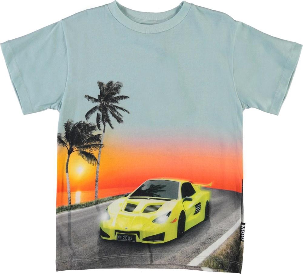 Rasmus - Ocean Drive - Ocean drive t-shirt with car