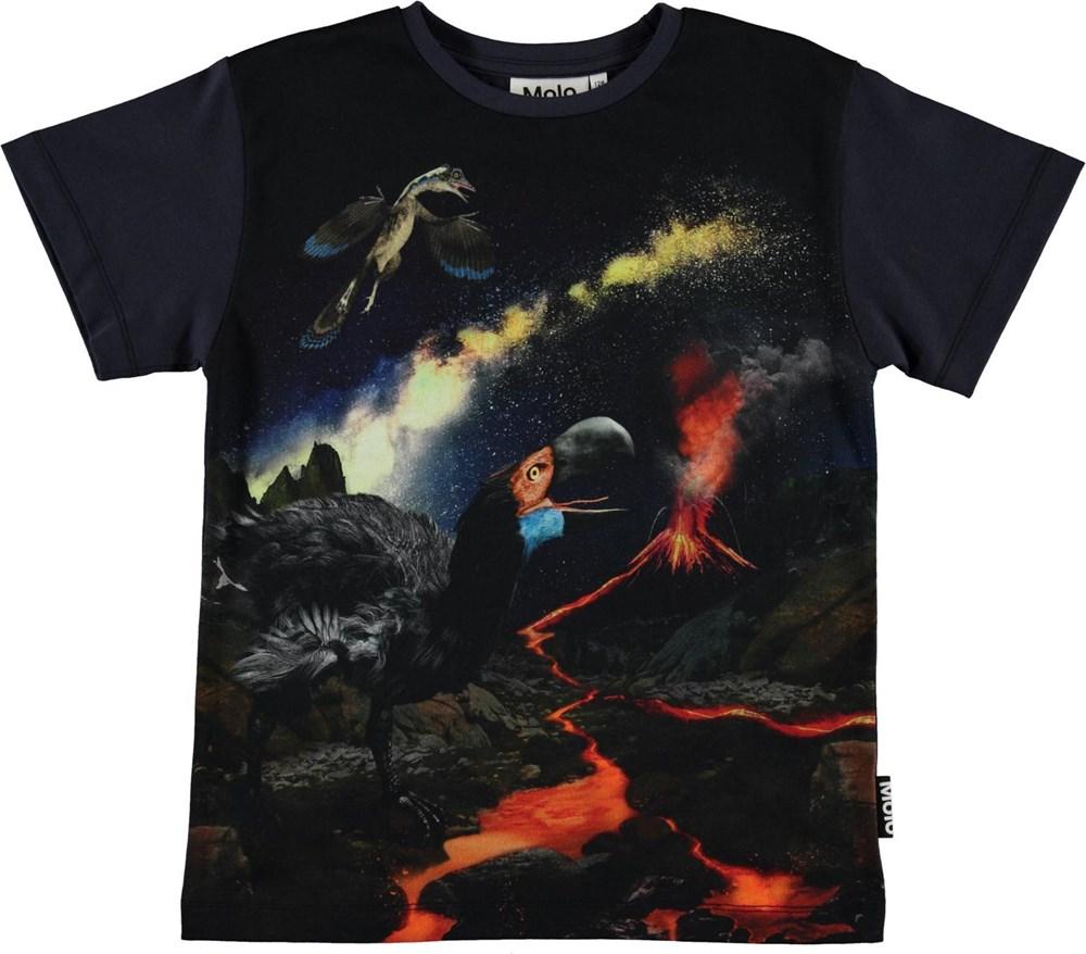 Rasmus - Wild Past - Organic t-shirt with animals
