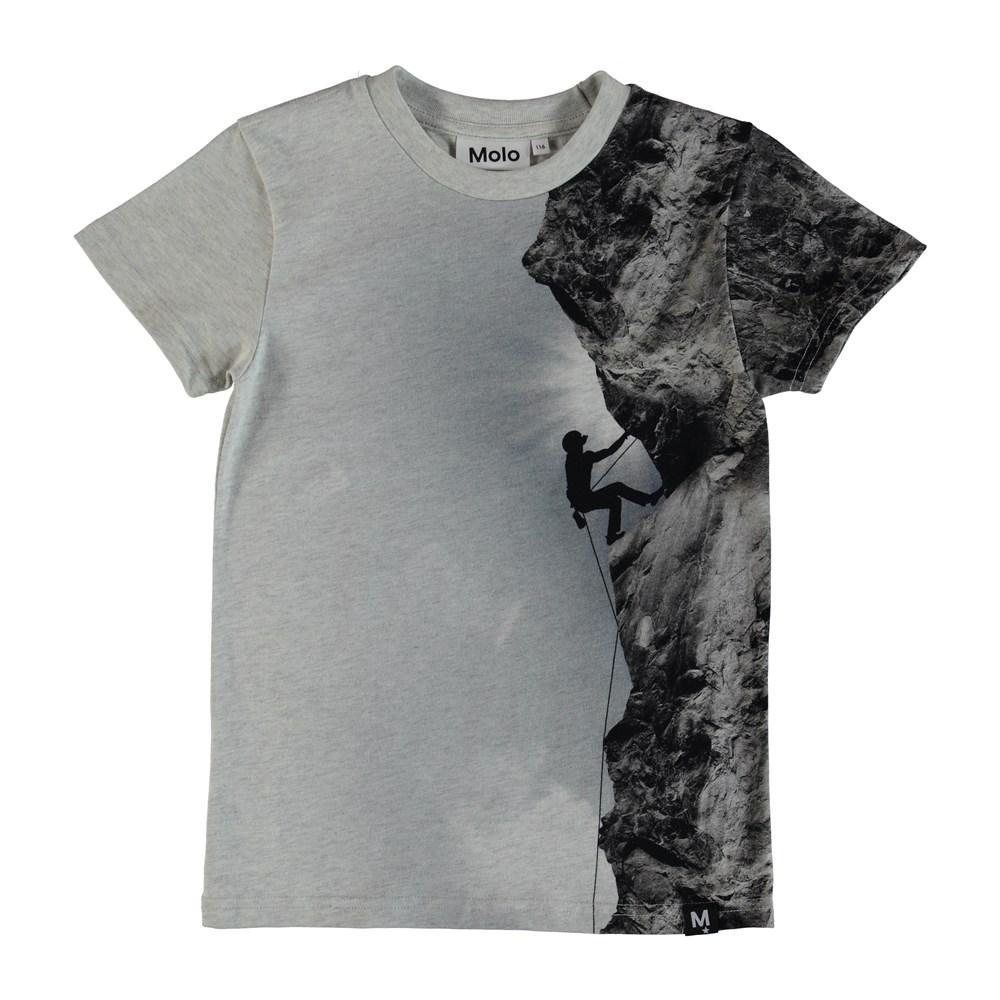 Raven - Climber - T-Shirt Climber -Grey