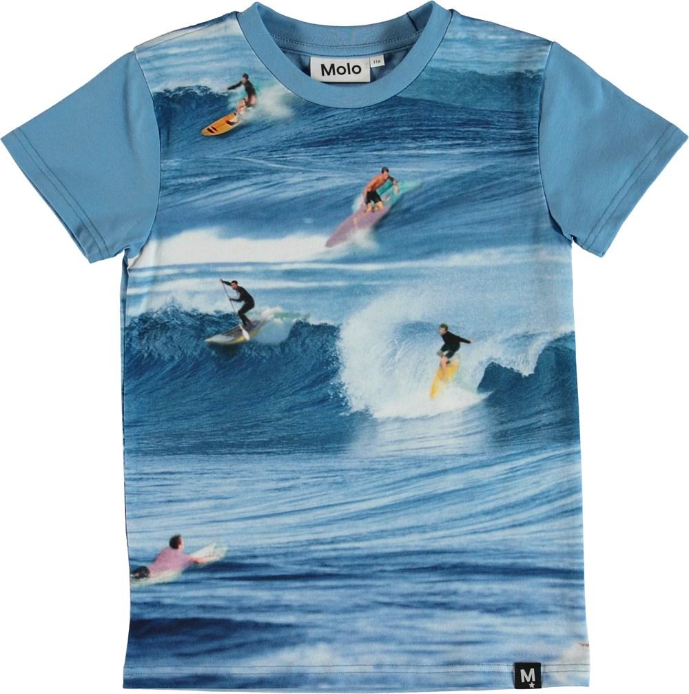 Raven - Surfers - T-Shirt - Blue