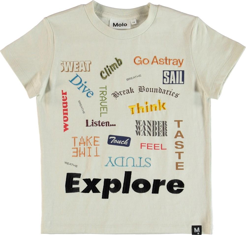 Raymont - Dirty White - T-Shirt