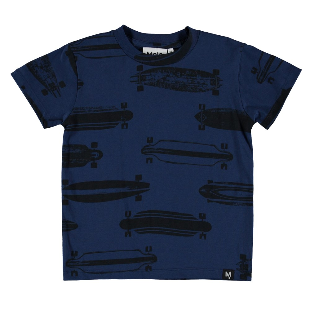 Raymont - Longboards - T-Shirt - Blue