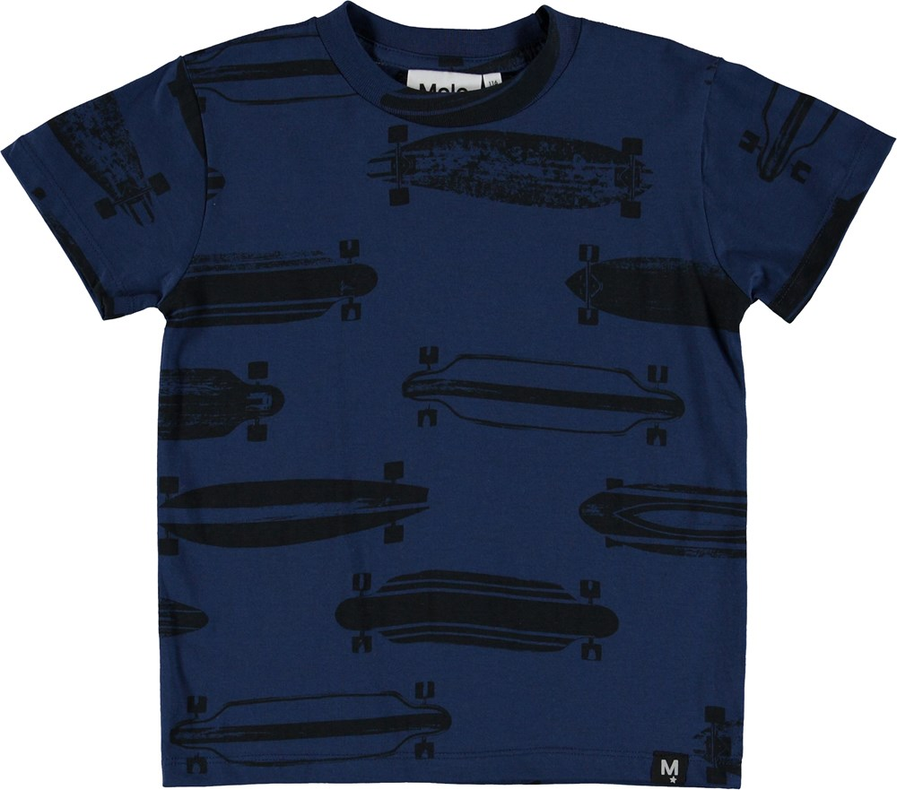 Raymont - Longboards - T-Shirt - Blue