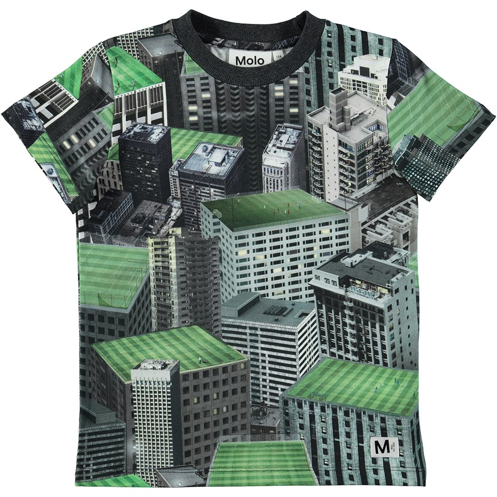 Raymont - Rooftop Games - Cool t-shirt with digital rooftop print