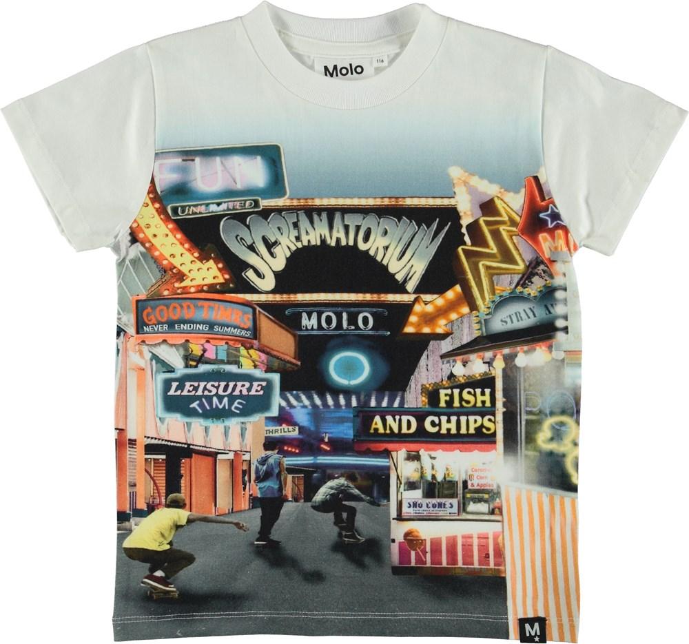 Raymont - Tivoli - T-Shirt - White