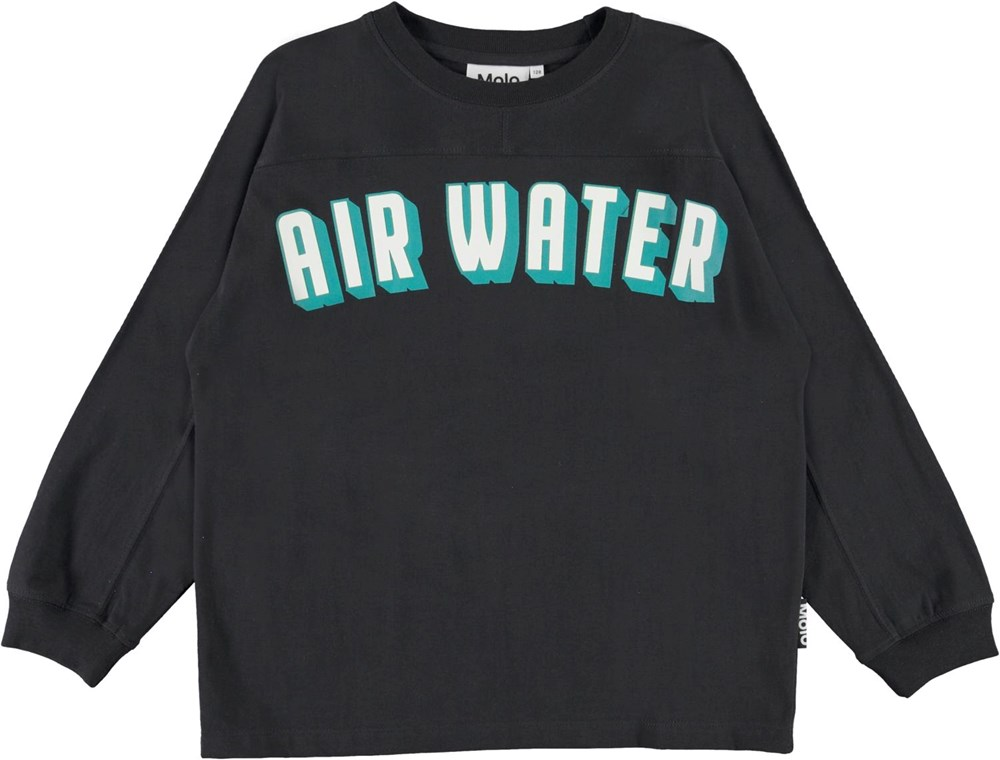 Rhon - Black - Black organic air water fire