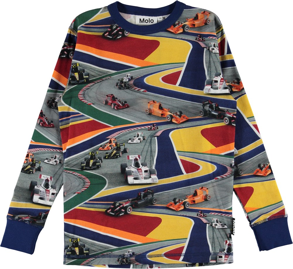 Rill - Full Speed - Organic top with colourful cars
