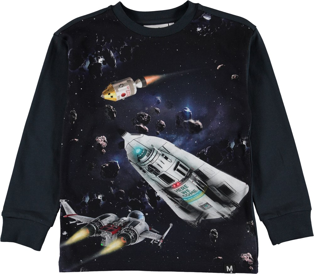 Risci - Space Scenery - Top with spaceships.