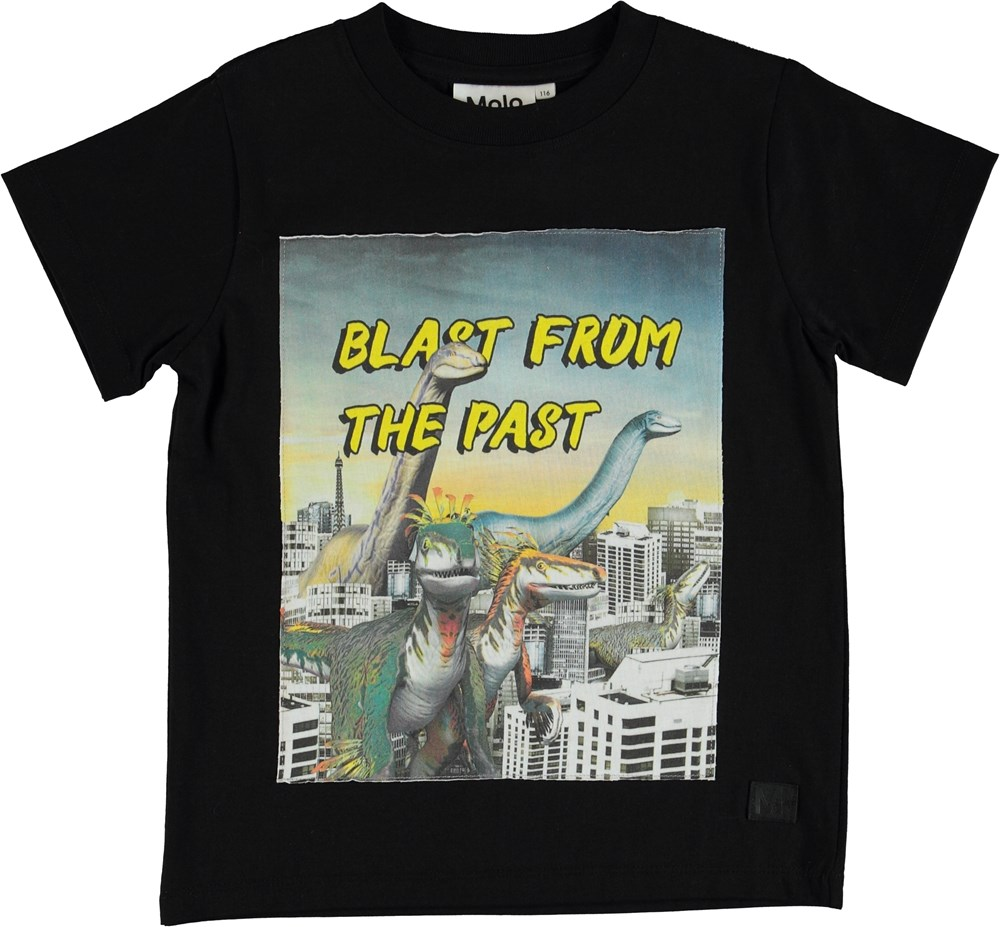 Road - Blast From The Past - T-shirt with science fiction print.