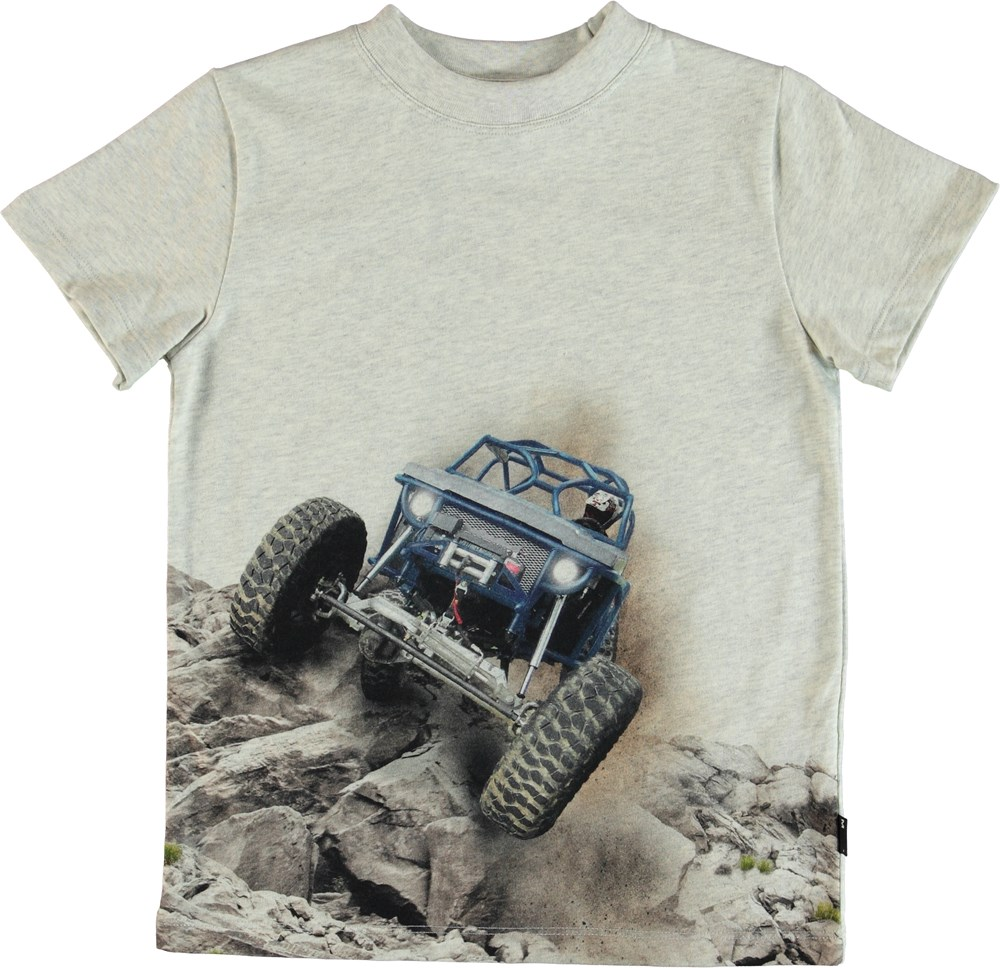 Road - Buggy - T-Shirt - Grey