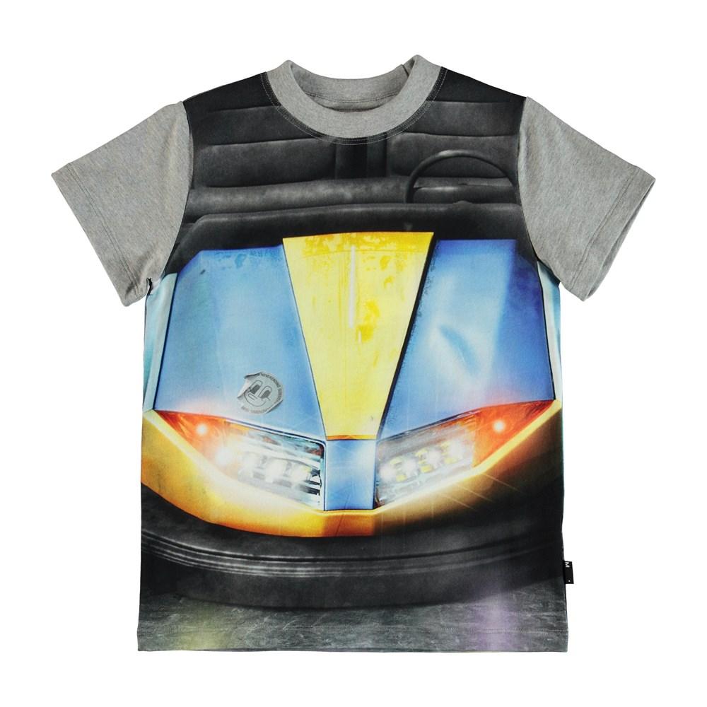 Road - Bumper Car - T-Shirt - Grey
