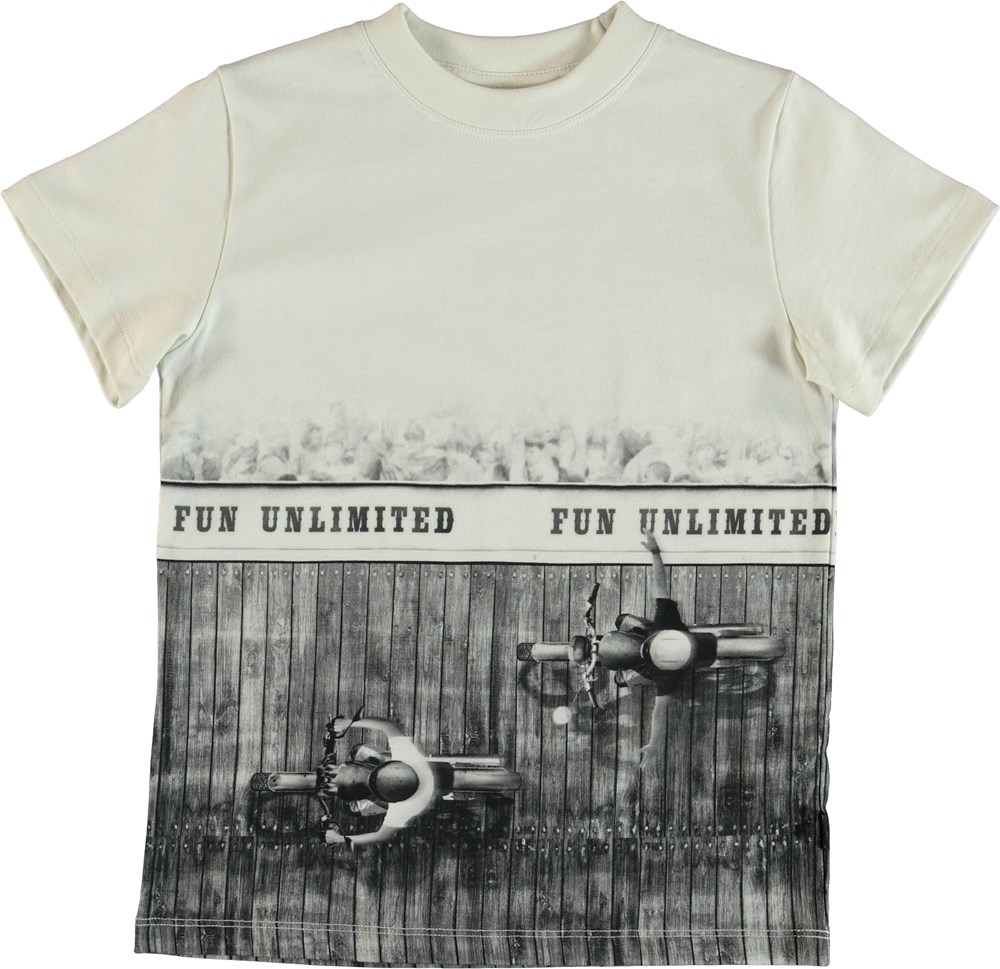 Road - Fun Unlimited - T-Shirt - White