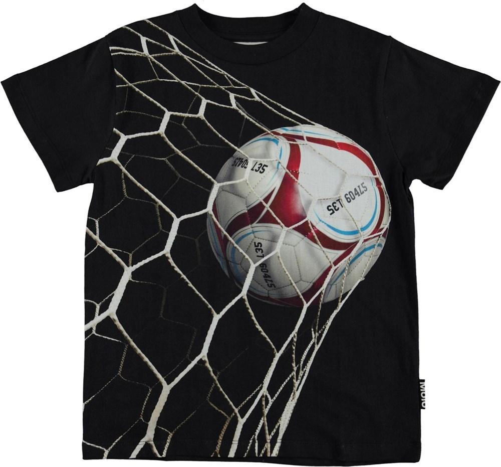 Road - Set Goals - Organic t-shirt with goal
