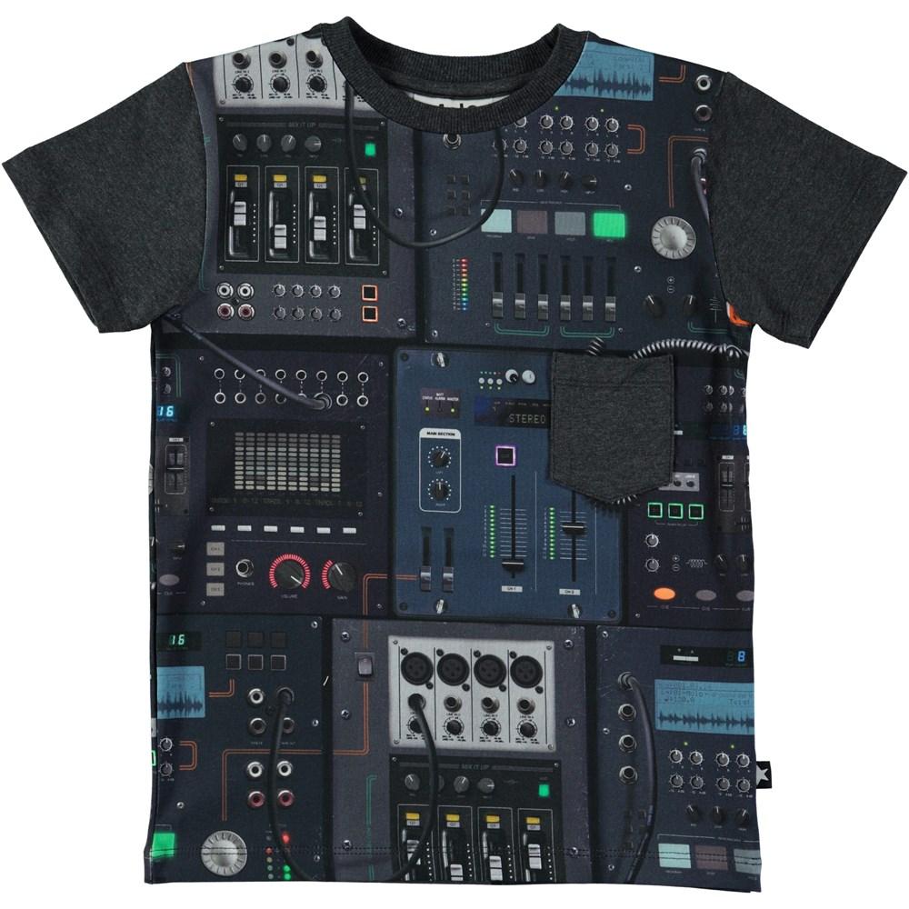 Roman - Mixer - Kortærmet t-shirt med mixer digitalprint
