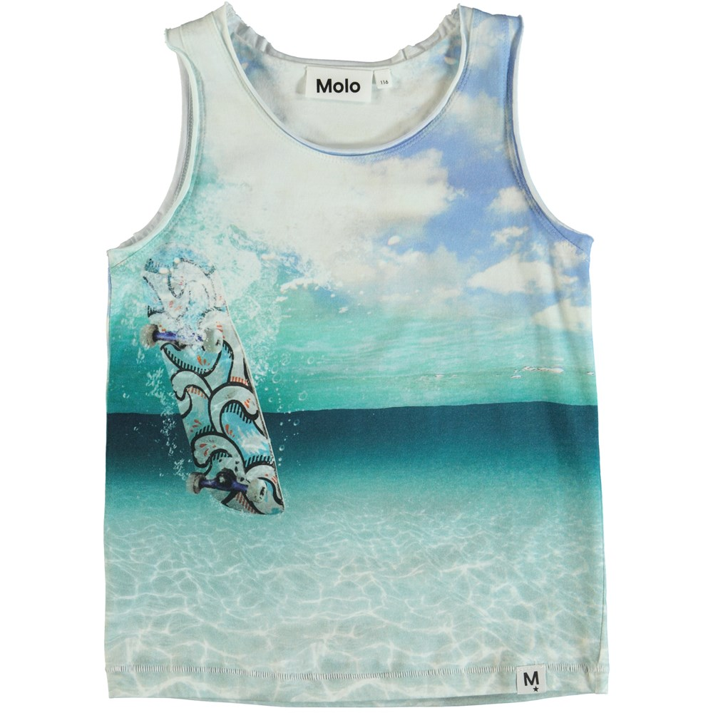 Ronoy - Skateboard - Tank top with skateboard