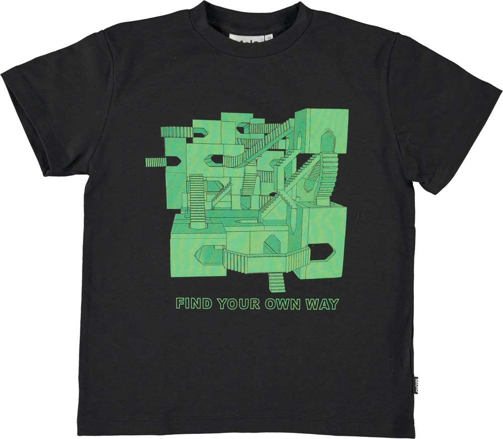 Roxo - Amazing Game Graphic - Find your way organic t-shirt