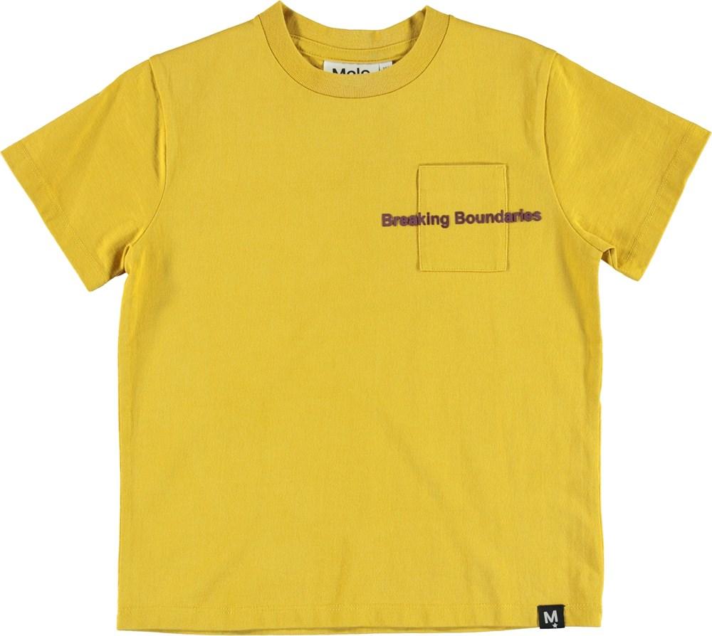 Roxo - Cadmium Yellow - T-Shirt - Yellow