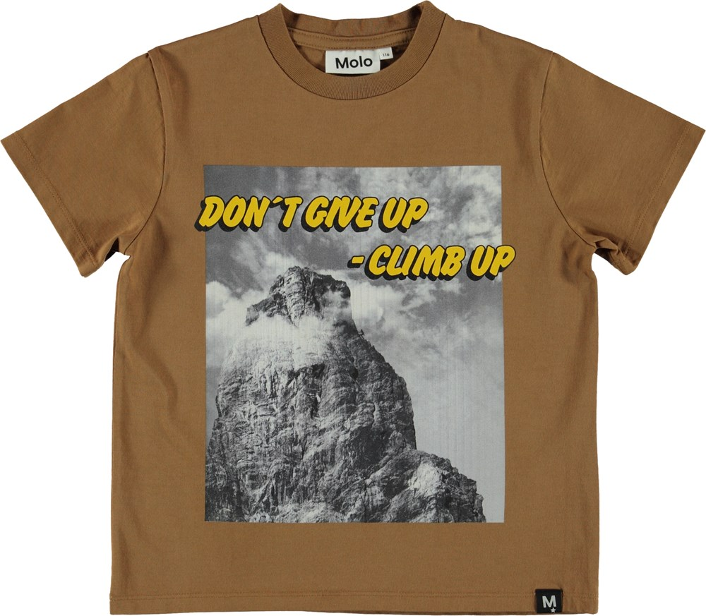 Roxo - Climb - T-Shirt - Brown