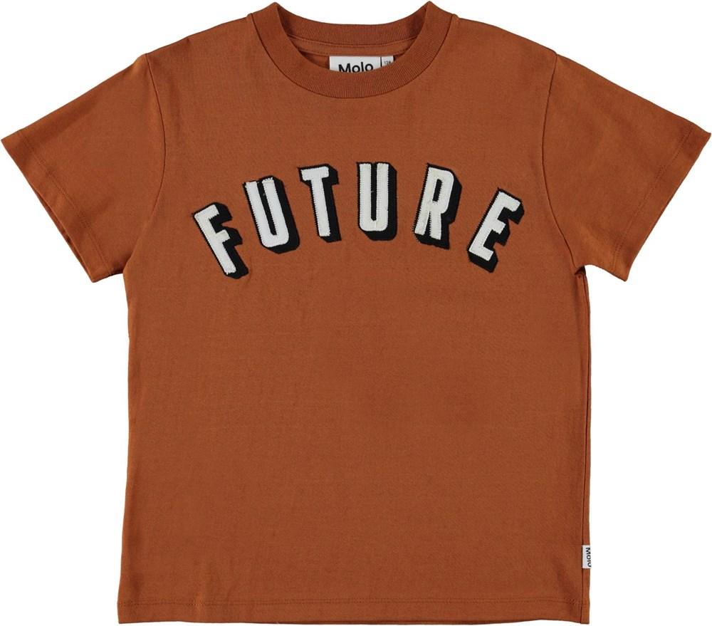 Roxo - Iron - Brown future t-shirt