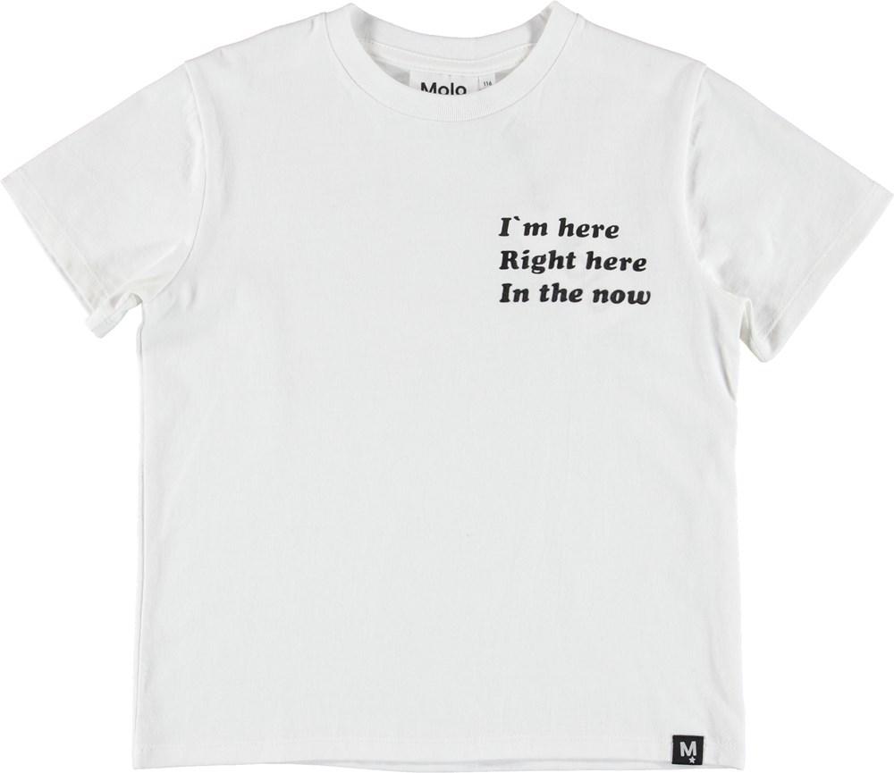 Roxo - White - T-Shirt - White