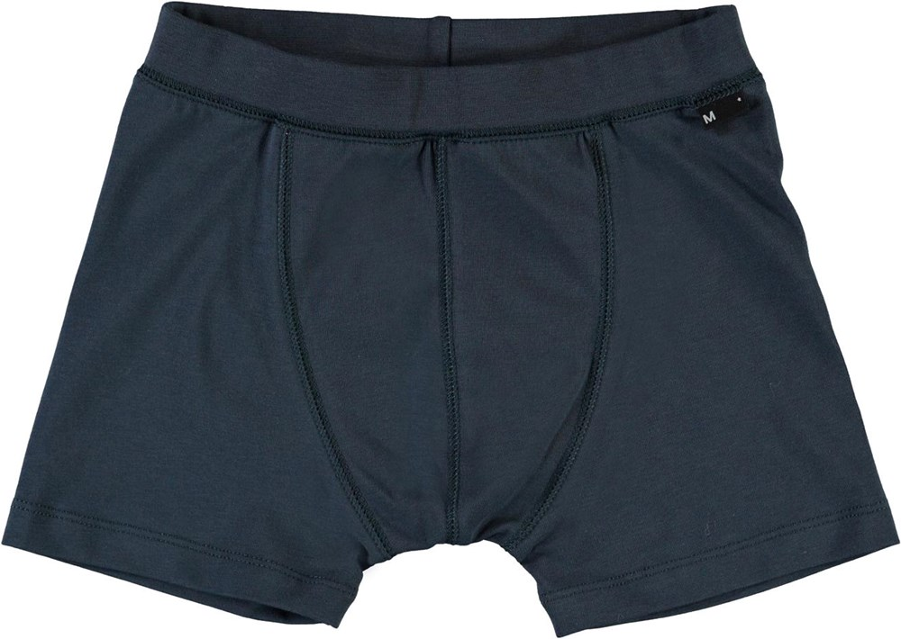 Jon - Summer Night - Organic boxershorts in dark blue