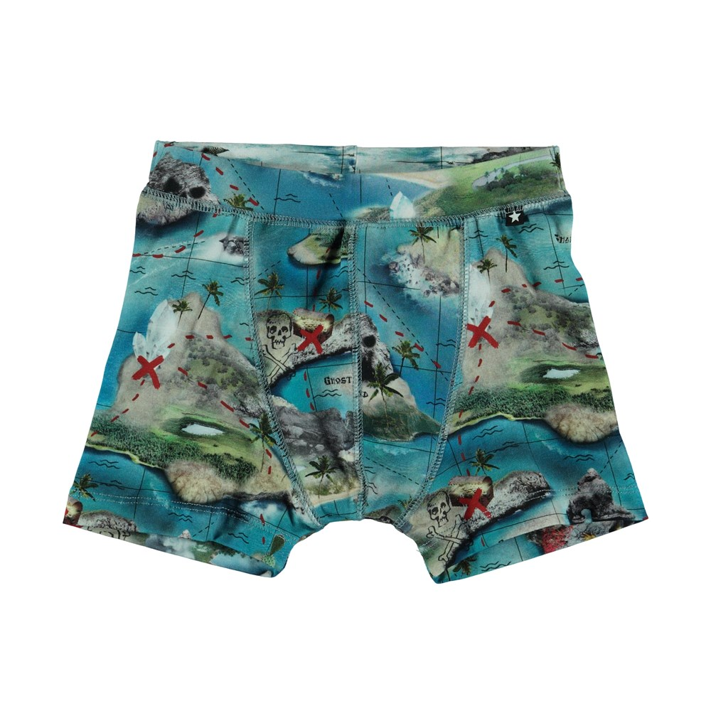 Jon - Treasure Map - Boxershorts - S