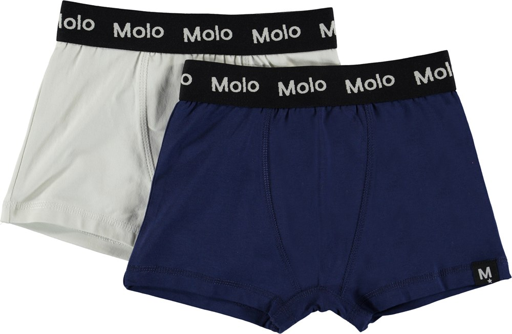 Justin 2-pack - Sailor - Pack with 2 pairs of boxershorts.