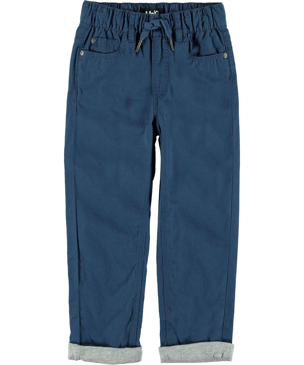 Abe - Infinity - Blå bukser med opsmøg.