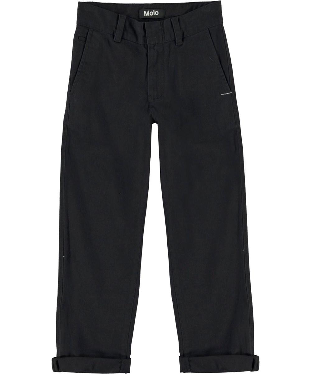 Ace - Black - Sorte chino bukser