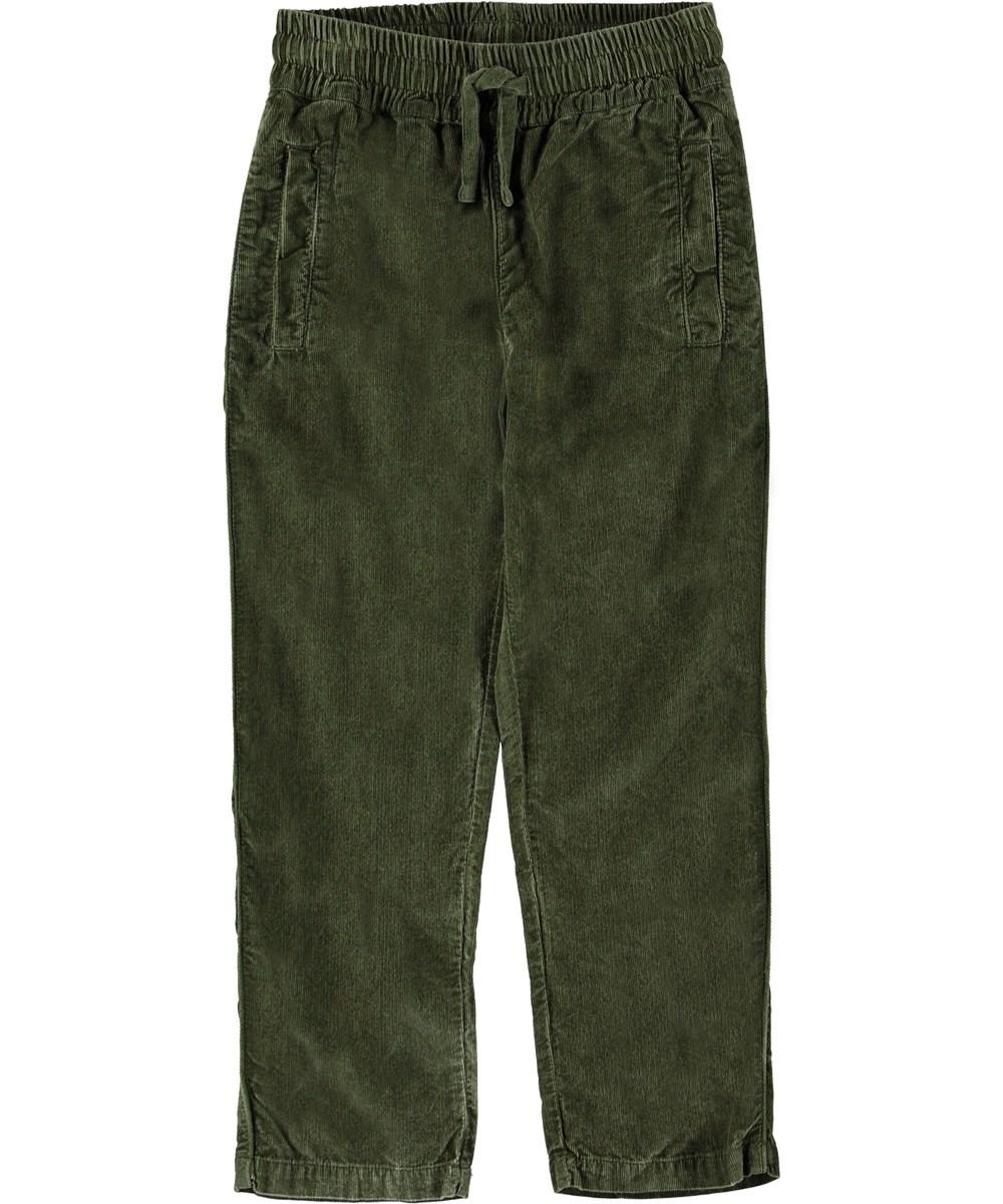 Adam - Bark - Grønne fløjls bukser.