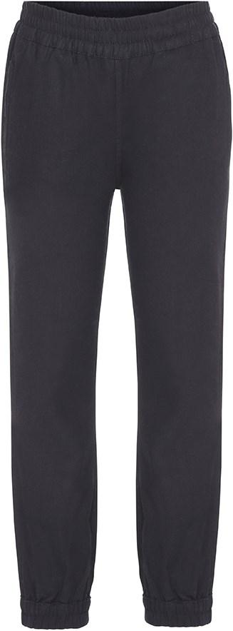 Add - Black - Smarte, sorte bukser i bomuld