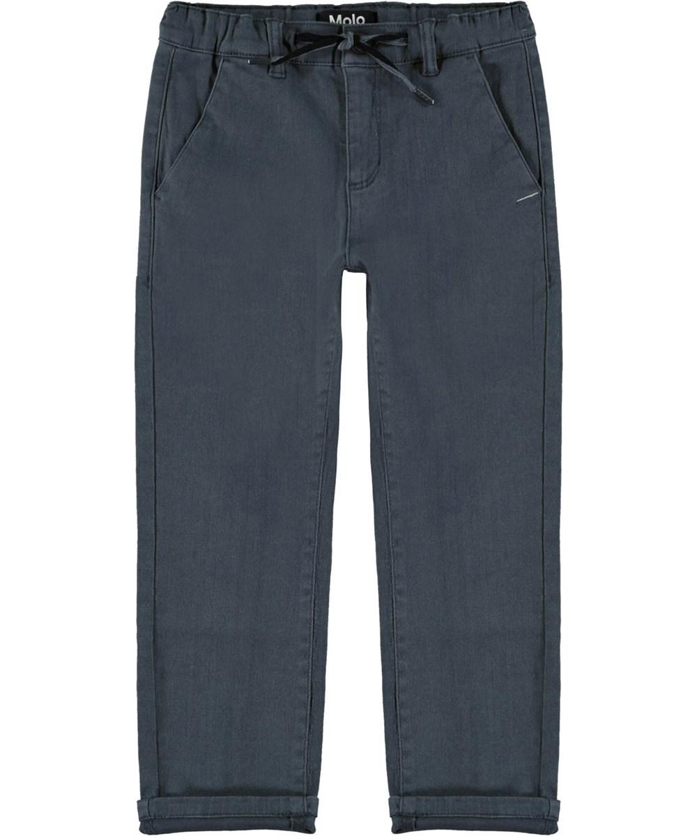 Aesy - Summer Night - Mørkeblå chino bukser