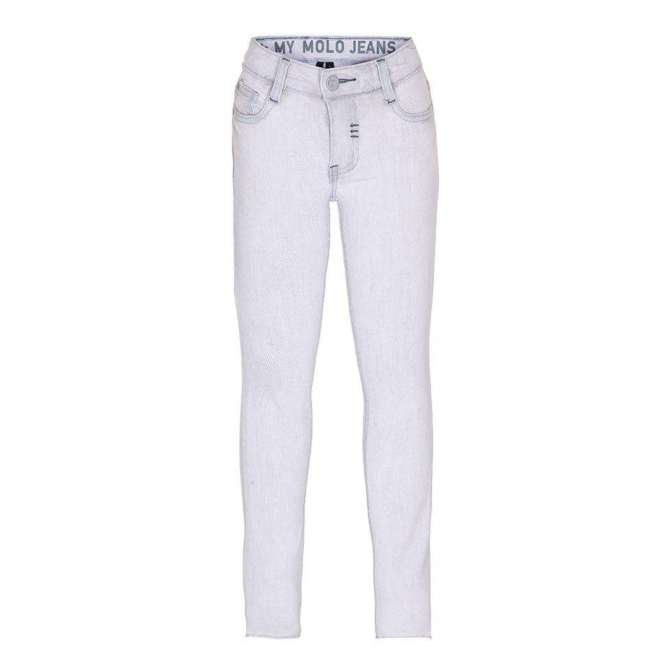 Aksel - Light Stone Denim - lyse slimfit jeans