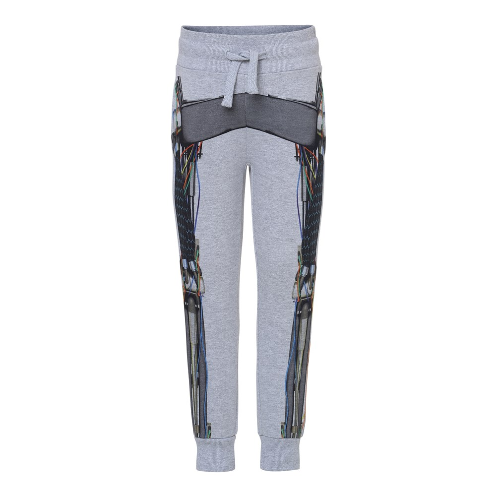 Alcan - Cyborg - Sweatpants med robot print.