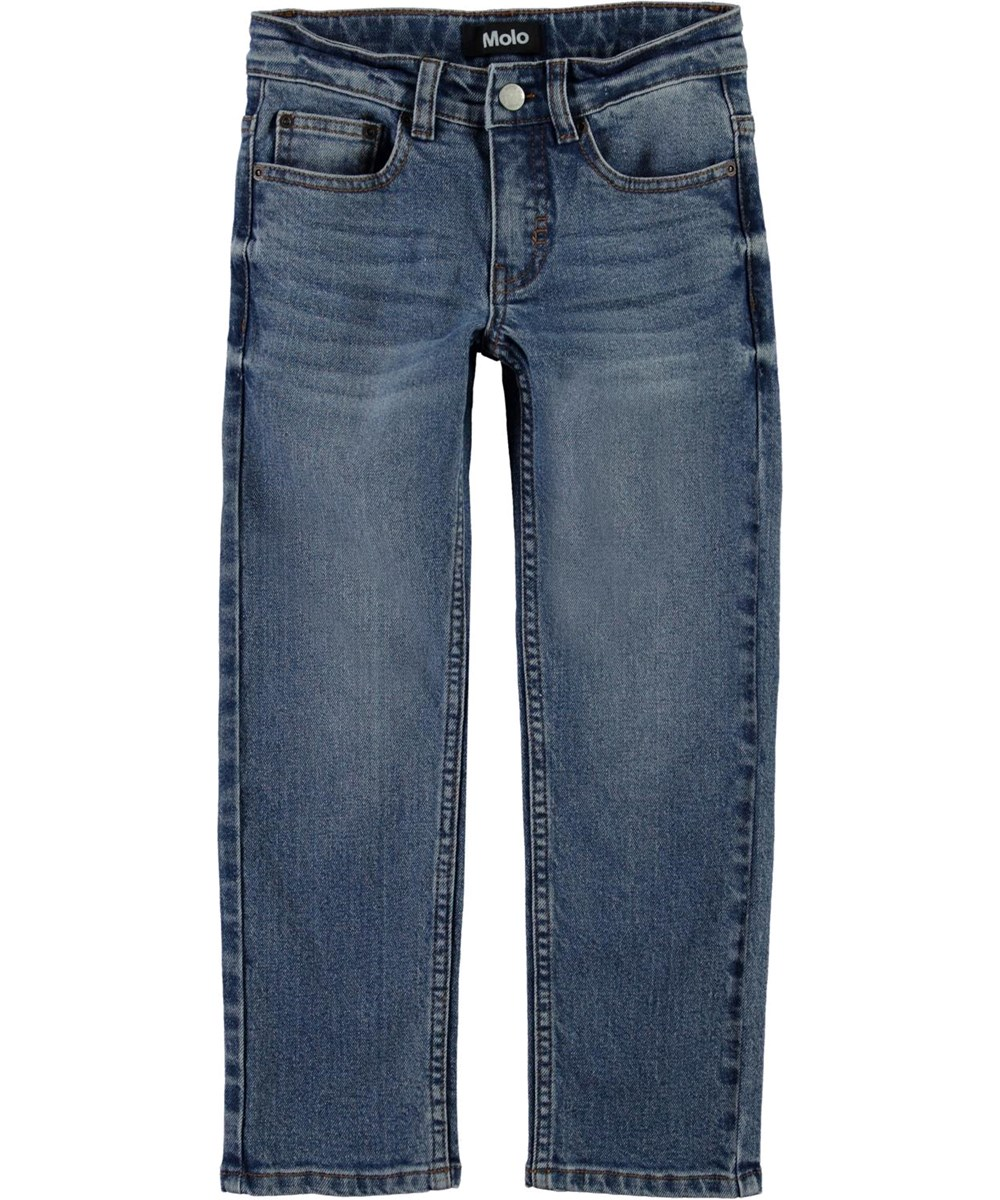 Alon - Worn Denim - Blå jeans med behagelig pasform