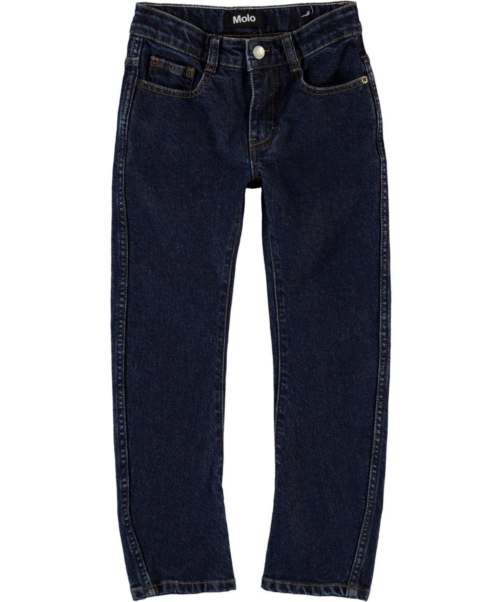 Alonso - Dark Indigo - Mørkeblå denim jeans