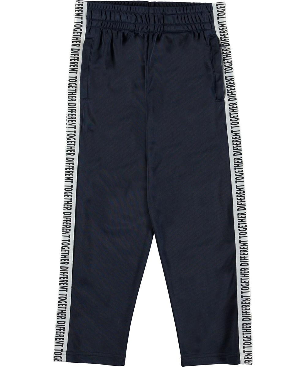 Altor - Infinity - Trackpants blå sporty bukser.