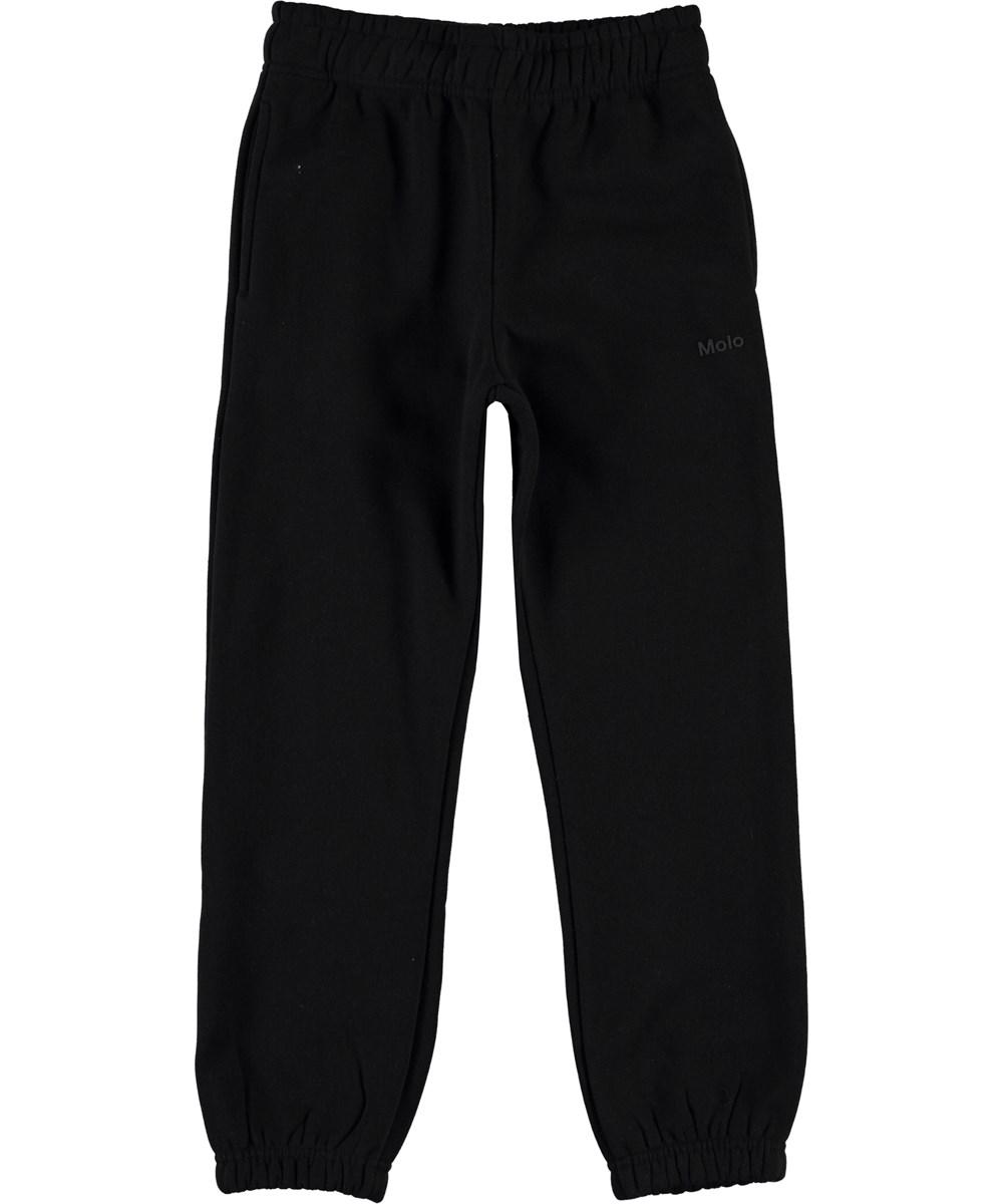 Am - Black - Sorte sweatpants