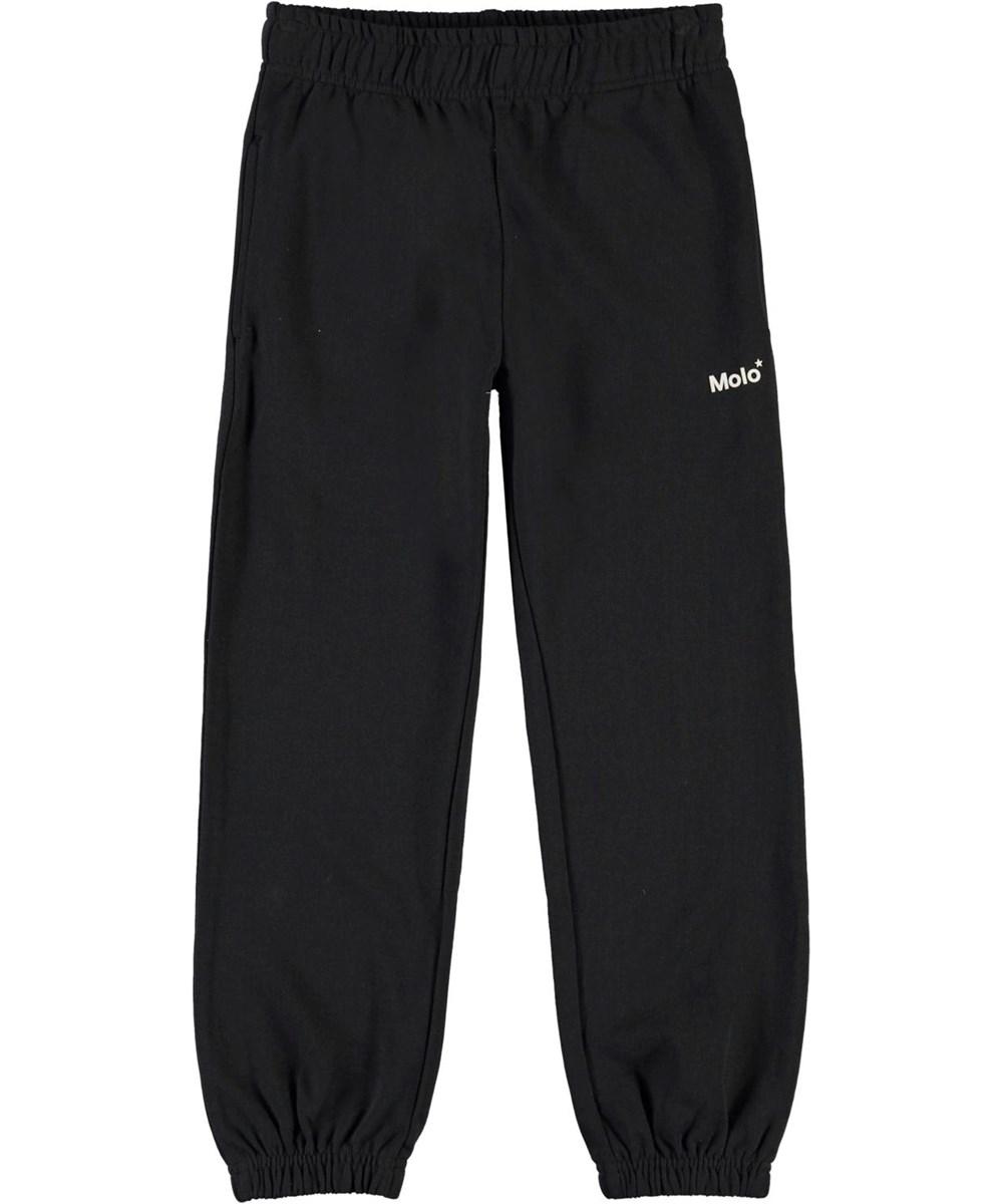Am - Black - Sort sporty sweatbukser