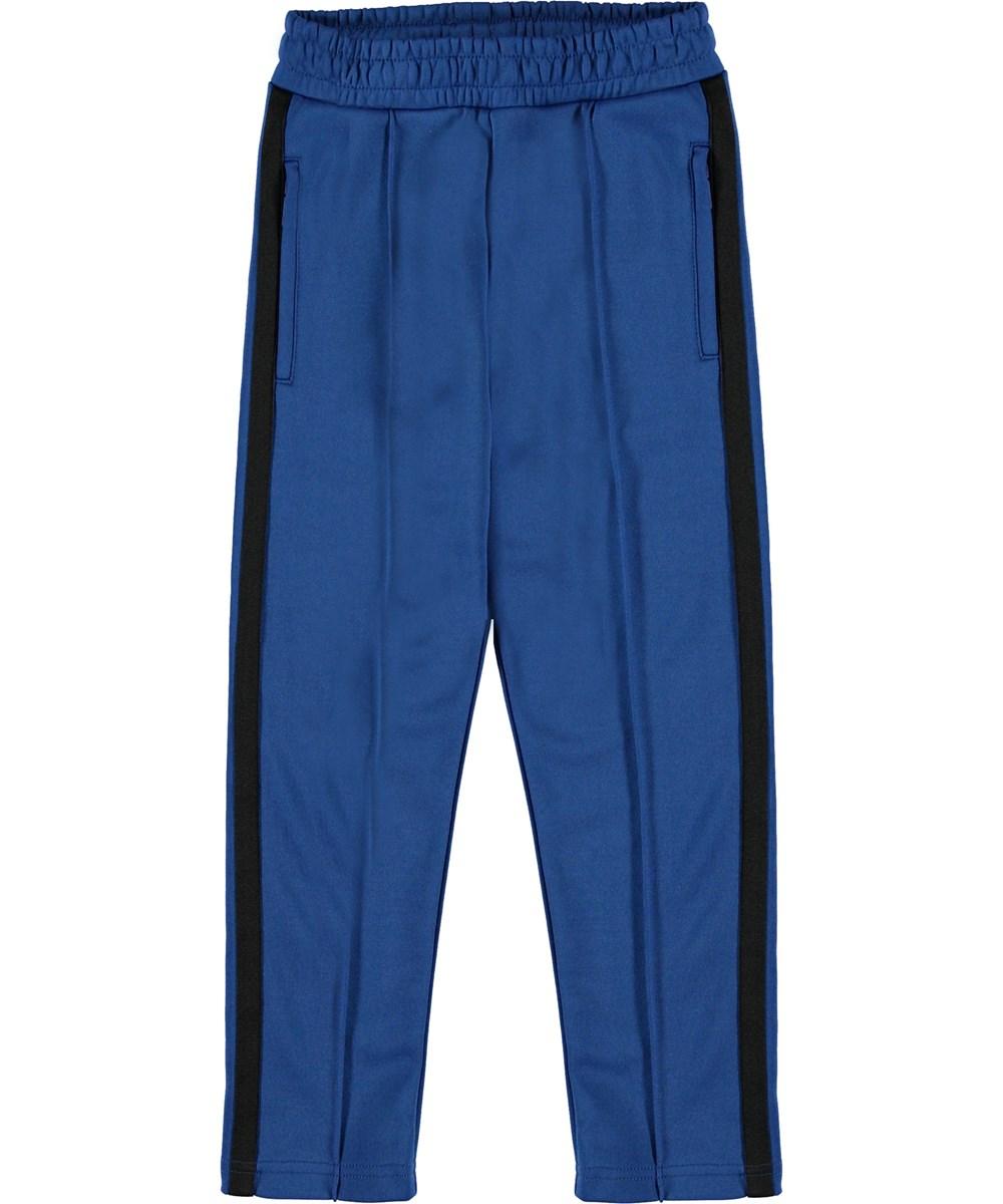 Anakin - True Blue - Trackpants blå sporty bukser.