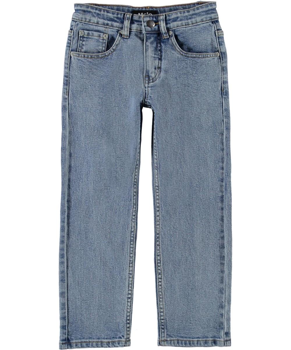 Andy - Stone Blue - Blå jeans med løs pasform