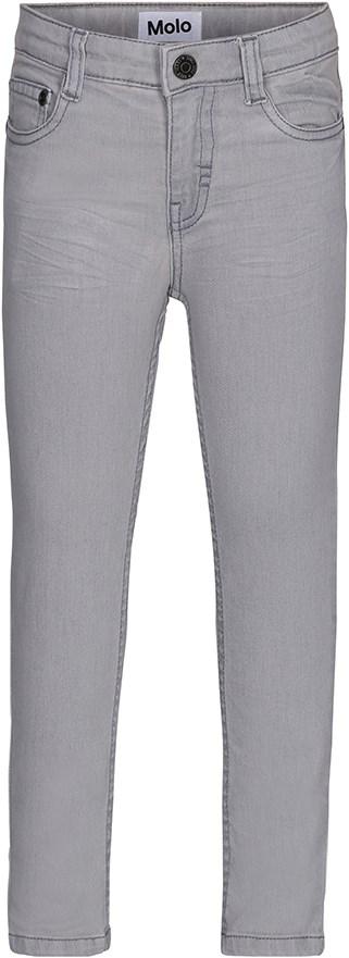 Anton - Winter Dirt - Grå denim jeans med lommer