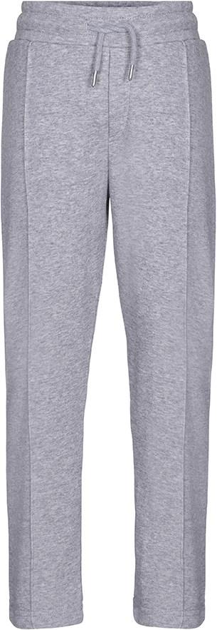 Arwin - Grey Melange - Grå sweatpants med bindebånd