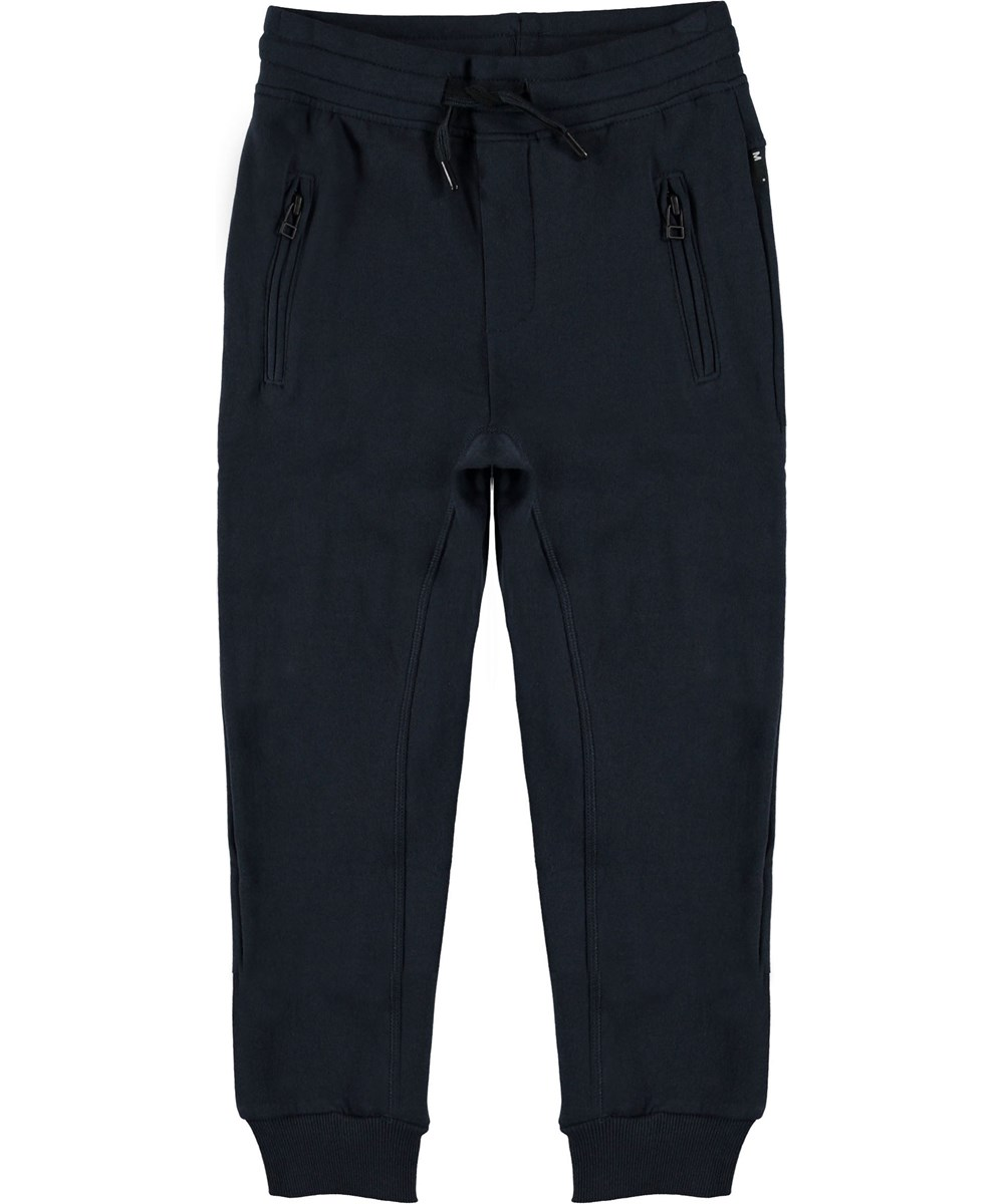 Ash - Carbon - Sweatpants blå sporty bukser.